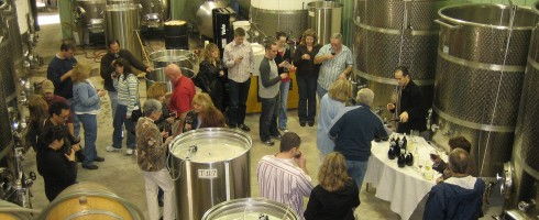 Winery Cellar Tour & Tasting
