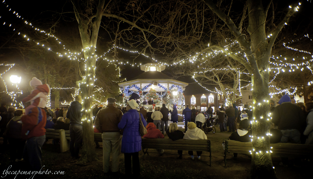 Cape May Christmas Tree Lighting Ceremony in Rotary Park